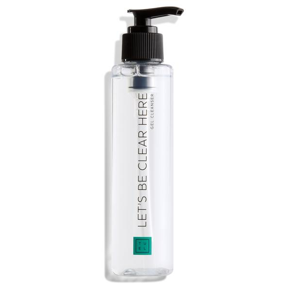 let's be clear here gel cleanser